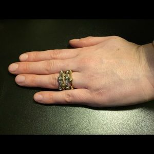 Henri Bendel layering rings